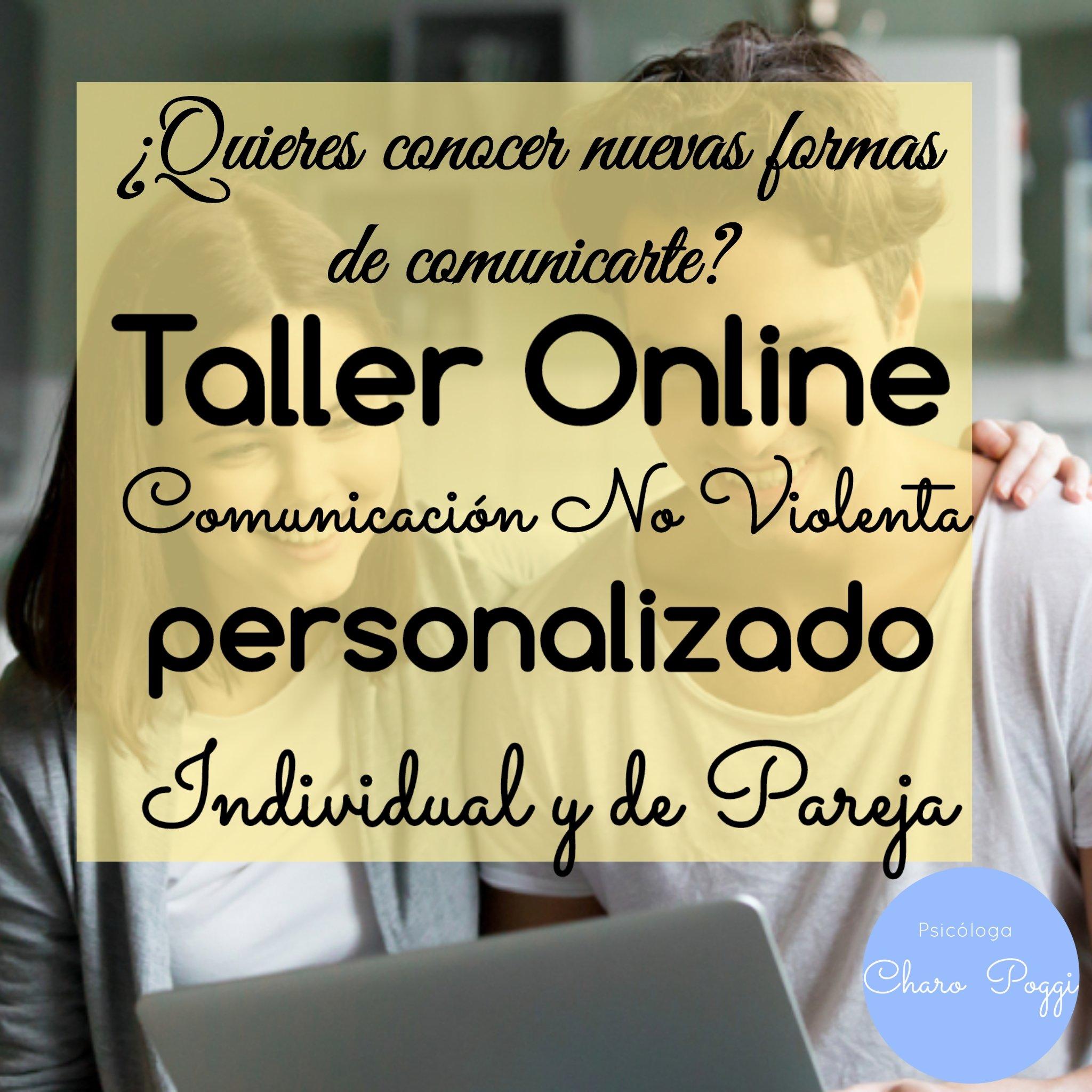 taller online comunicación no violenta individual o de pareja